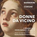 8 Marzo 2017, Donne da vicino a Palazzo Barberini