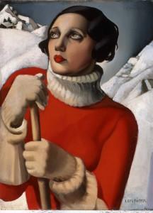 Tamara de Lempicka, Saint-Moritz