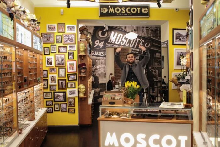 Moscot, il brand eyewear di NY apre il primo shop in Italia