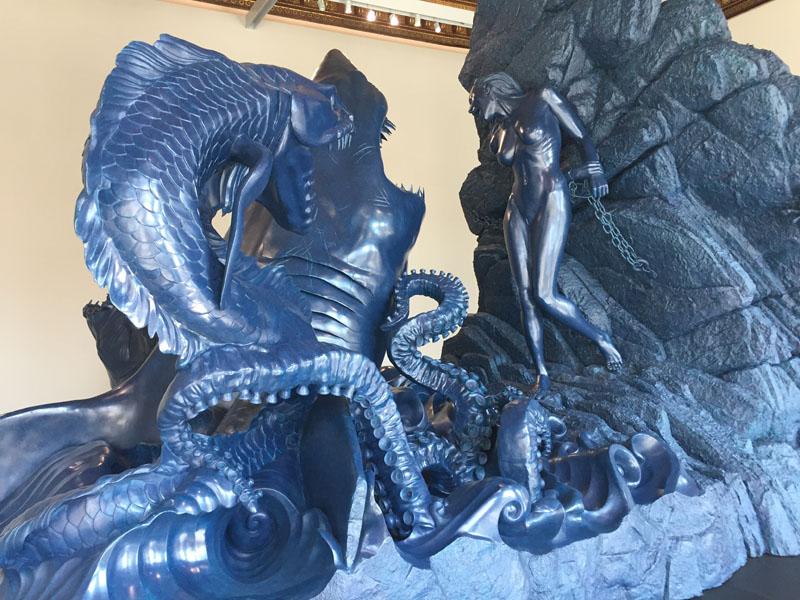 26 Andromeda and teh Sea Monster, Bronzo, Palazzo Grassi