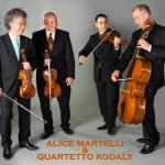 Un incontro fortunato: Alice Martelli e il Quartetto Kodàly