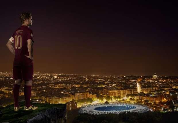 L'oro di Totti, Nike tributa i 25 anni di carriera del Capitano