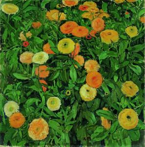 Koloman Moser Marigolds (Soucis)