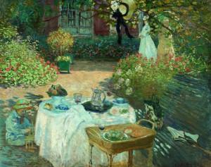 Claude Monet Le Déjeuner