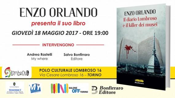 Enzo Orlando tinge di giallo e di occulto la città di Torino