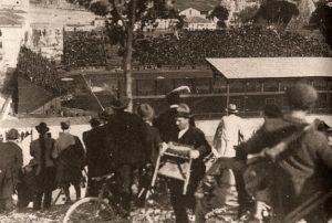 Campo Testaccio in una foto dell'epoca