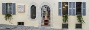 Facciata Hotel Porta Marmorea