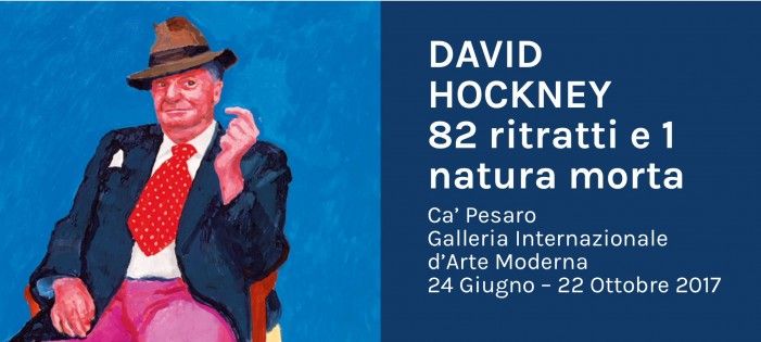 David Hockney a Venezia, una collezione di ritratti