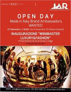 BAU invito Open Day