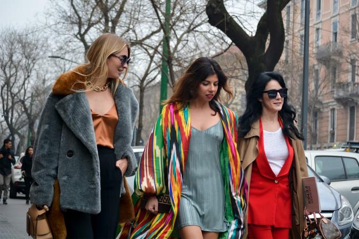 I contrasti femminili della moda autunno inverno