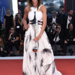 SARA CAVAZZA FACCHINI RED CARPET VENEZIA