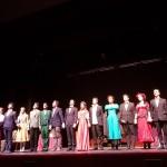 Il cast dell'Accademia Teatro Senza Tempo