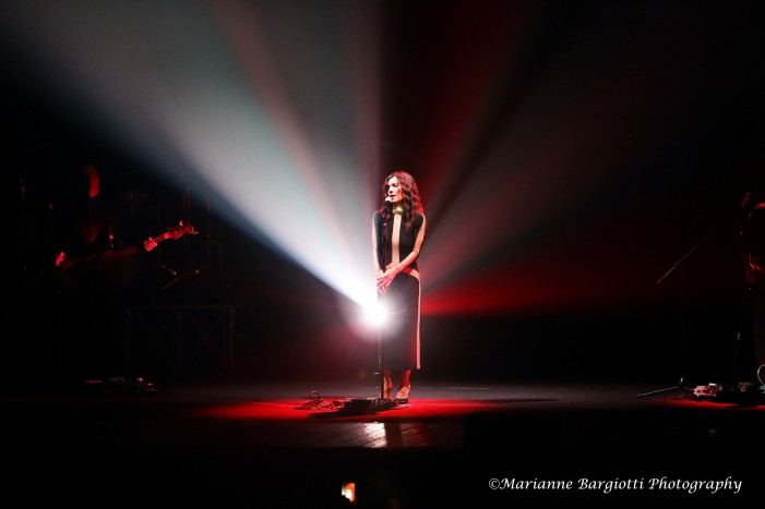 Paola Turci ed il concerto bolognese per il Secondo Cuore Tour