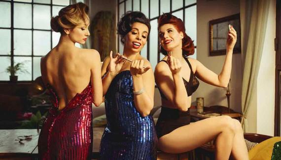 Ladyvette, charme vintage anni '50 per le tre dive dello swing