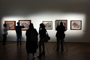 """Bologna, 18/10/2017. PRESENTAZIONE ALLA STAMPA DE """"LA MOSTRA SOSPESA"""" A PALAZZO FAVA A BOLOGNA: I MURALISTI MESSICANI OROZCO, RIVERA, SIQUEIROS PER LA PRIMA VOLTA IN EUROPA. Foto Paolo Righi/Meridiana Immagini"""