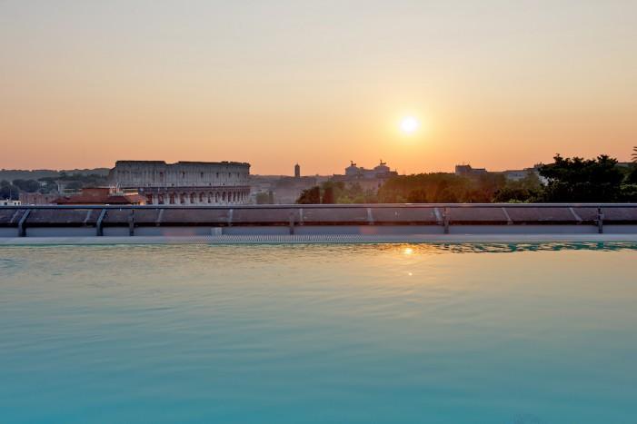 Panorami mozzafiato e servizio d'alta classe al Mercure Roma Centro Colosseo