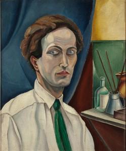 René Paresce Autoritratto, 1917 Olio su tela, cm. 65,4x54 Banca BPM – Collezione Banca Popolare