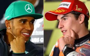 Lewis Hamilton e Marc Marquez. Best of Sport 2017