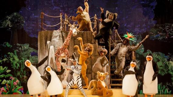 Al Brancaccio divertimento assicurato con gli esilaranti personaggi di Madagascar