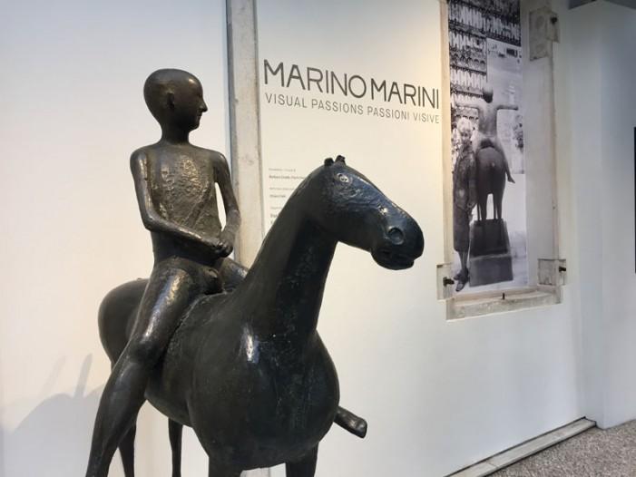Le passioni visive di Marino Marini a Venezia