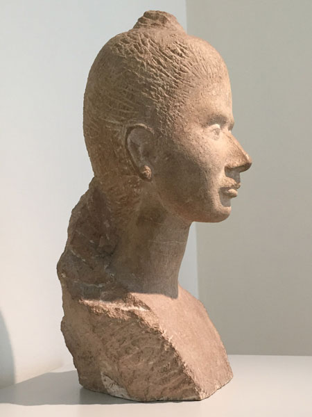 Stanza 10, Marino Marini, Ritratto della signora Vitali, 1937–38, Pietra