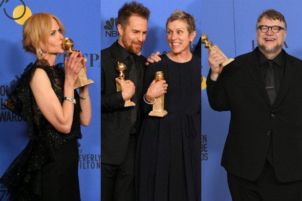 Golden Globes 2018 vincitori e vinti: tutta Hollywood contro gli abusi sessuali