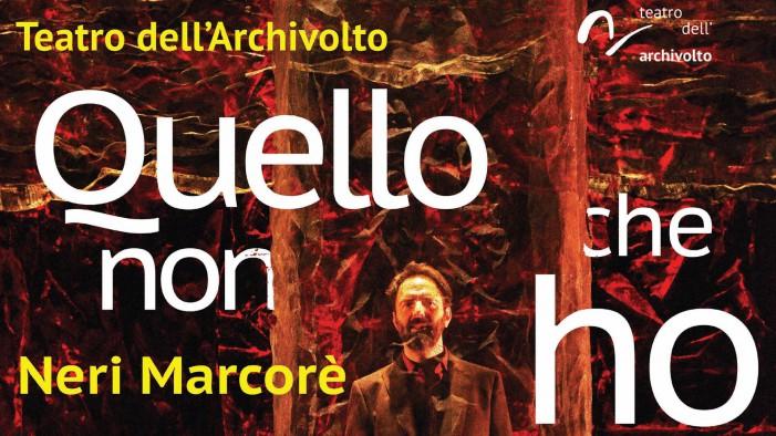 Neri Marcorè porta in scena Pasolini e De Andrè