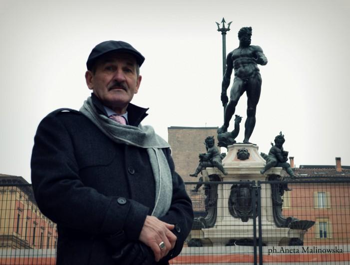 Tadeusz Biniewicz e la versione maxi del Nettuno del Giambologna