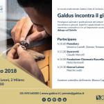 Invito GaldusIncontraIlGioiello_21marzo2018_Milano