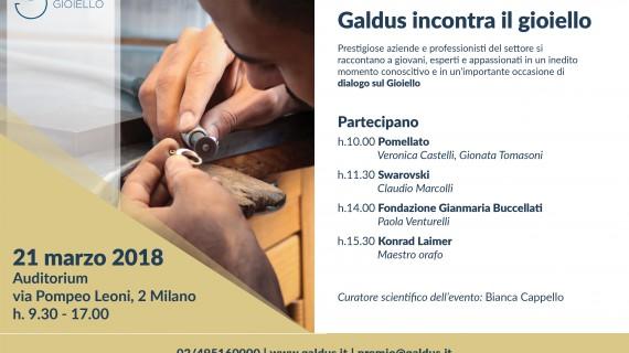 Galdus Incontra il Gioiello. Dialogo e confronto tra giovani e grandi marchi
