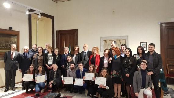 Arpino incontra la meglio gioventù al Premio di Poesia europeo