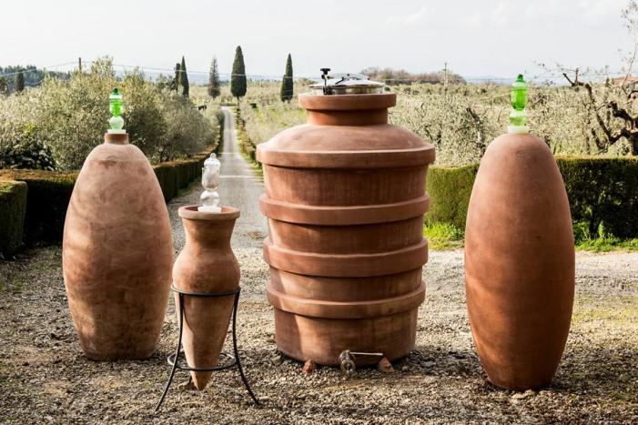 Al Vinitaly 2018 la Fattoria Montecchio, dalla terracotta al vino