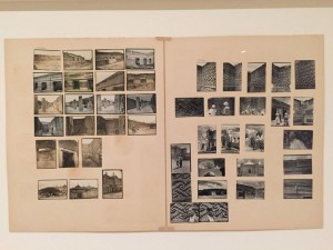 Josef Albers, Mitla, 1935-49, Stampe alla gelatina d'argento e cartoline montate su cartoncino