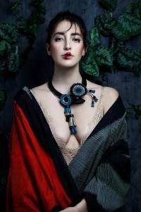 Giulia Boccafogli, ANEMONE BLOMING NECKLACE, Ph Valentina De Meo