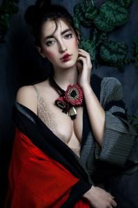 Giulia Boccafogli, ANEMONE SYMPHONY NECKLACE, Ph Valentina De Meo