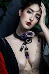 Giulia Boccafogli, Anemone Blooming Necklace, Ph Valentina De Meo