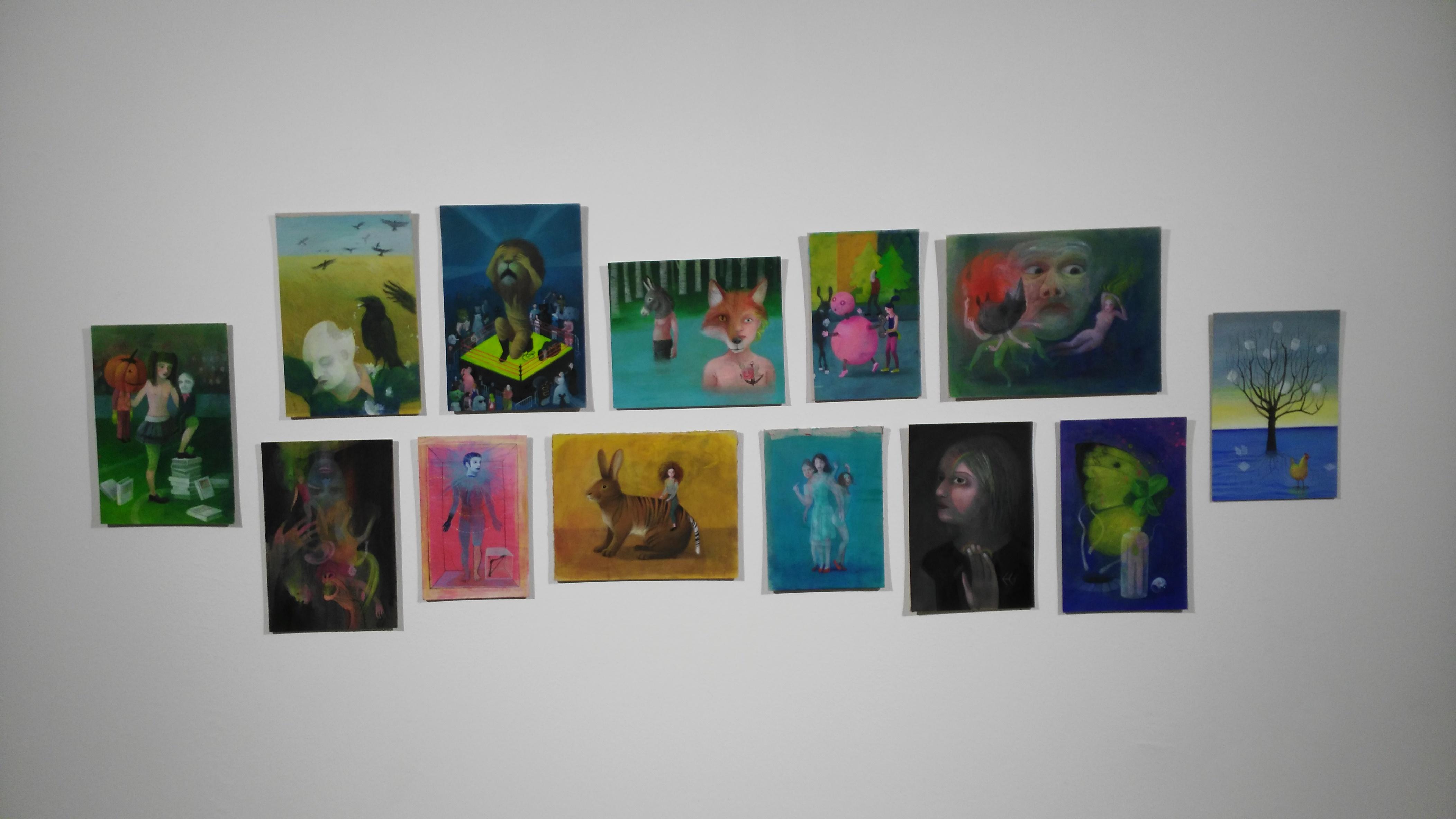 "Mara Cerri, illustrazioni per ""I libri di Oz"", mostra La linea d'ombra"