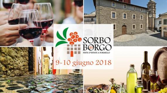 Sorbo in Borgo, la Festa dell'Estate e della cultura enologica