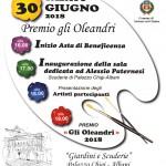 Gli Oleandri, torna a Soriano il premio dell'arte e della creatività