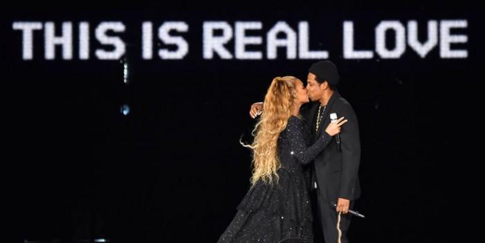 Beyoncé e Jay-Z: la coppia infuoca l'Olimpico