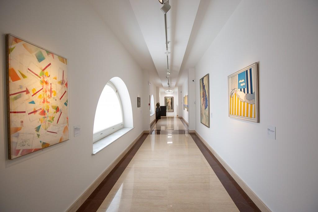 Palazzo Merulana - Galleria