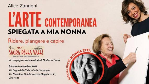 L'arte contemporanea spiegata a mia nonna vi aspetta a Vicenza
