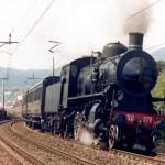 treno a vapore sannio