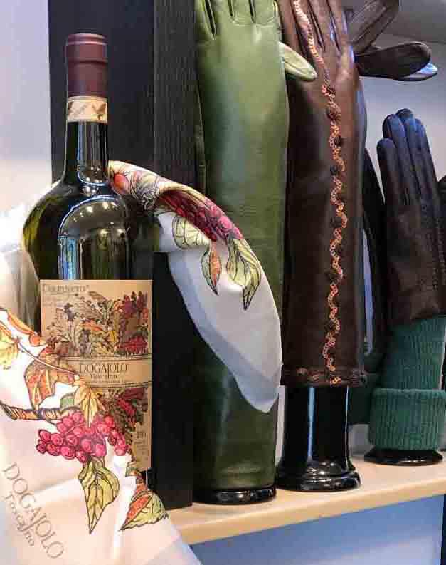 Per La Vendemmia i vini CARPINETO saranno in degustazione presso SERMONETA Gloves, piazza di Spagna 61