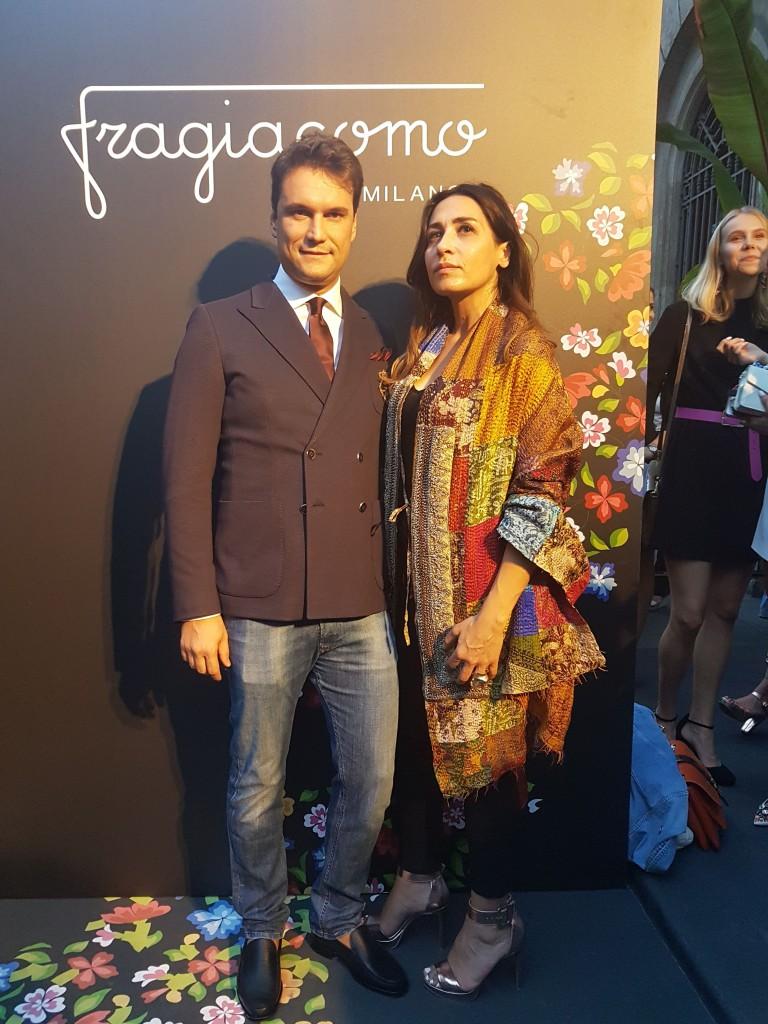 FRAGIACOMO e Francesca de Palo