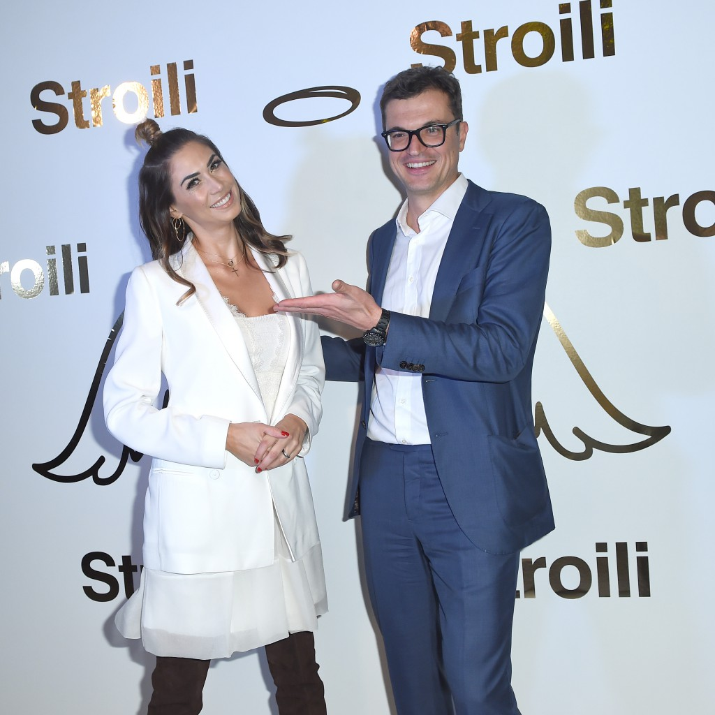 MILAN, ITALY - OCTOBER 17: Melissa Satta and Nicola Saraceno attend Stroili Holy Gold Party on October 17, 2018 in Milan, Italy. (Photo by Jacopo Raule/Getty Images for Stroili) *** Local Caption *** Melissa Satta; Nicola Saraceno