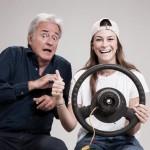 Partenza in salita, Corrado Tedeschi in scena con la figlia Camilla per la prima volta