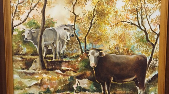Al mio Paese, poesia pittorica di Riccardo Sanna