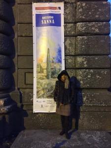 Fabiola Cinque mostra Riccardo Sanna