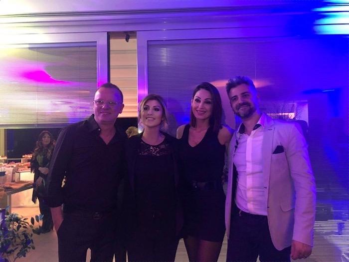 50+2: Anna Tatangelo si affida ad Erika Morgera per la festa a sorpresa di Gigi D'Alessio